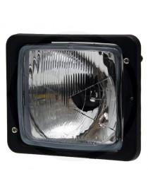Optique de phare noir Case IHC Fendt 3404170R94