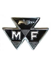 Emblème de calandre tracteur Massey Ferguson 35 828136M1