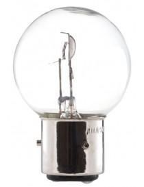 Ampoule blanche 3 ergots 12 volts 45/40W BA21D