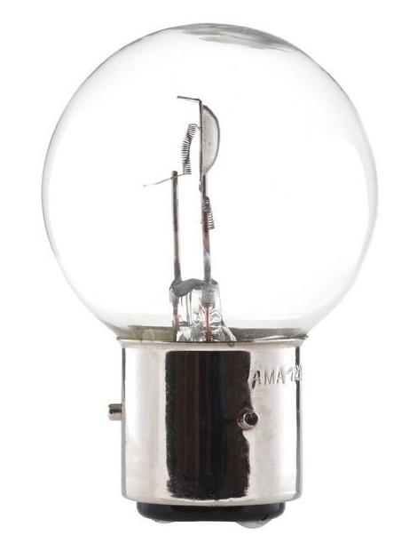 Ampoule blanche 3 ergots 12 volts 45/40 W BA21D