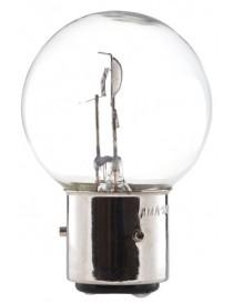 Ampoule blanche 3 ergots 6 volts 45/40W BA21D