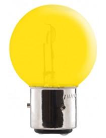 Ampoule jaune 3 ergots 6 volts 45/40W BA21D