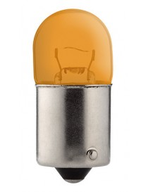 Ampoule graisseur jaune 12 volts 5W BA15S