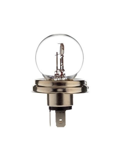 Ampoule blanche R2 6 volts 45/40W P45T