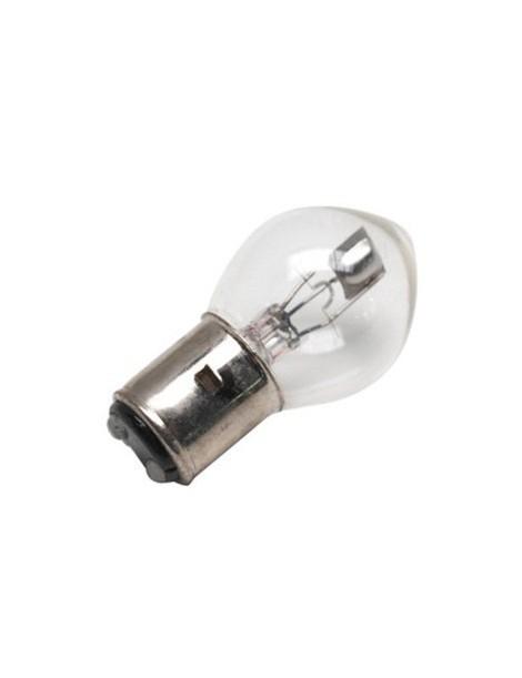 Ampoule blanche 2 ergots 24 volts 45/40W BA20D