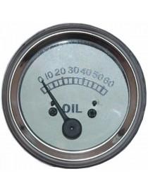 Manomètre de pression d'huile tracteur Massey Ferguson Petit Gris 506902M92