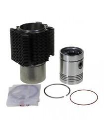 Chemise-Piston-Segment (cylindrée complète) Renault Fendt MWM AKD112 7701454414