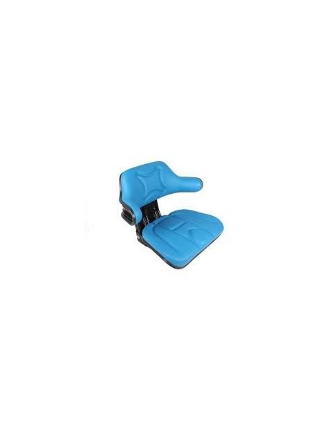 Siège enveloppant à suspension mécanique Fordson Bleu